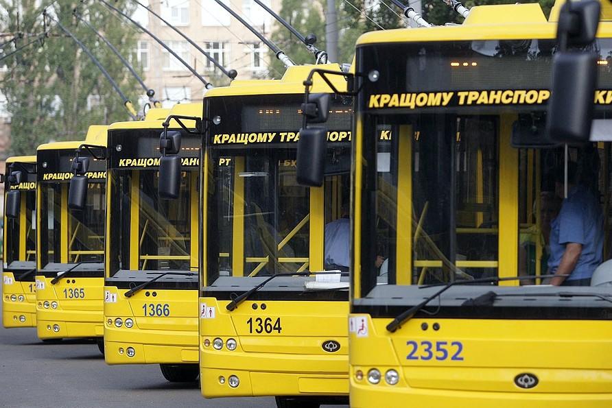 Во всем муниципальном транспорте Киева можно будет расплатиться банковскими картами
