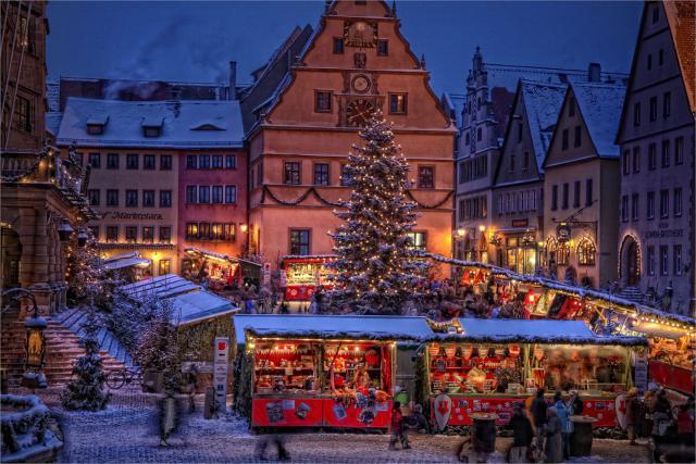 10 небольших городков Европы, куда нужно ехать за рождественской сказкой