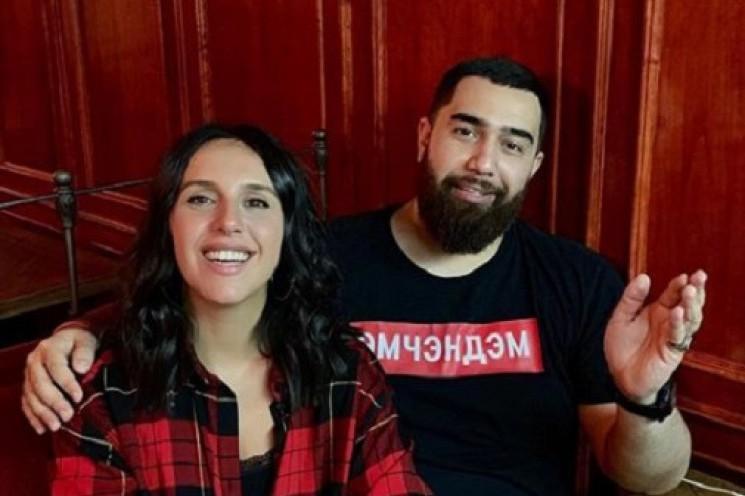 """Джамала совместно с рэпером Jah Khalib выпустила новый трек """"Кохаю"""""""