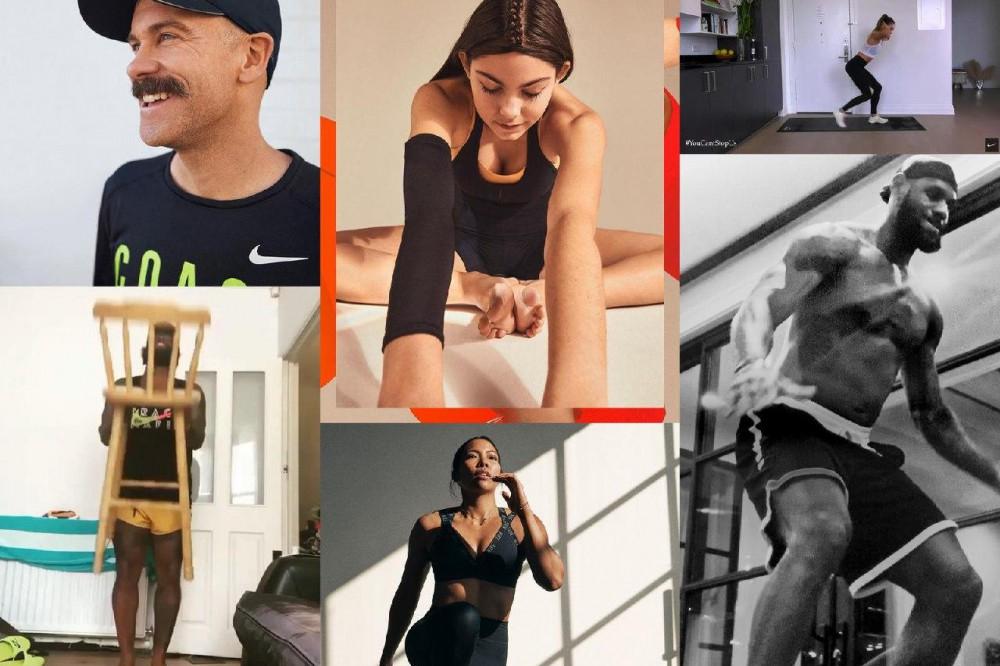 Nike допомагає людям зберігати мотивацію і надихає тренуватися вдома