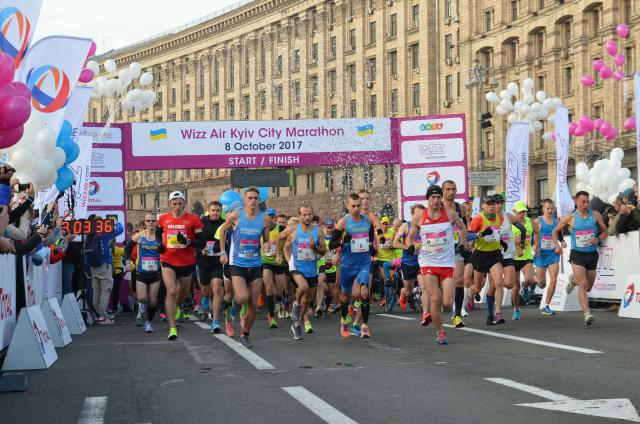 Рекорды и победители: как прошел 8-й Киевский марафон