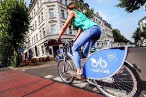 Объясняем по порядку: как работает новый велопрокат Nextbike