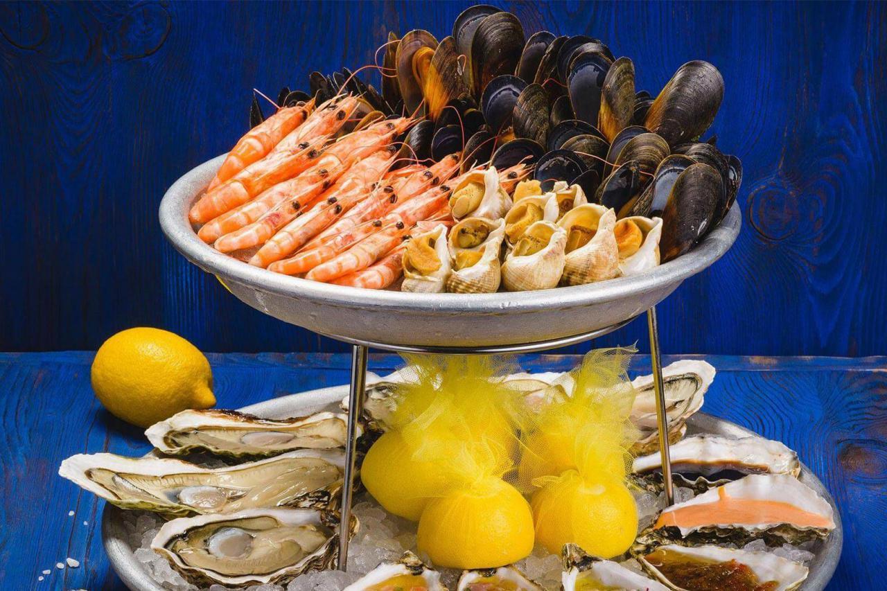 Ловись, рыбка: 15 киевских ресторанов, где подают морскую кухню