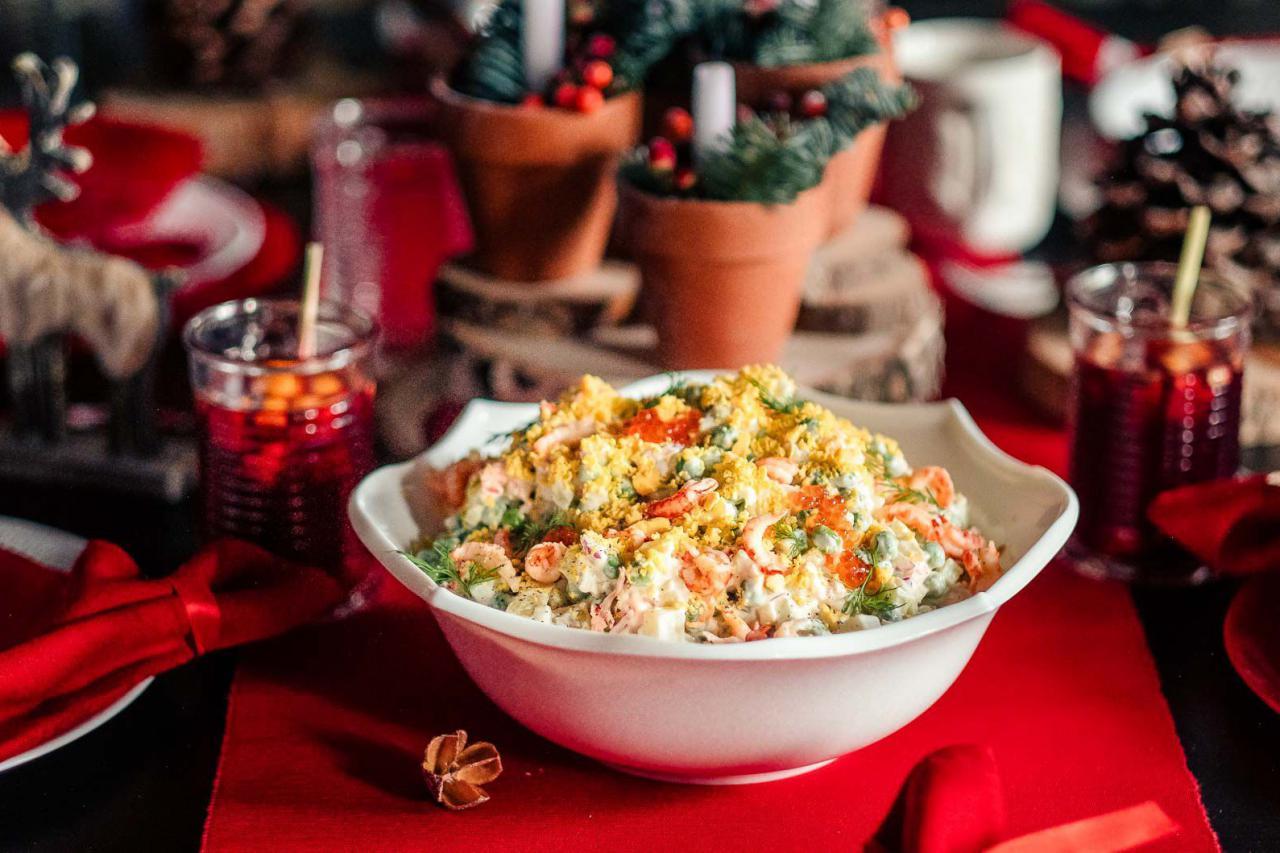С икрой, бычьим сердцем или креветками. 10 ресторанов Киева, где можно поесть оливье
