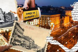 Крещатик: кофе в Союзе журналистов и шопинг в магазине с 80-летней историей