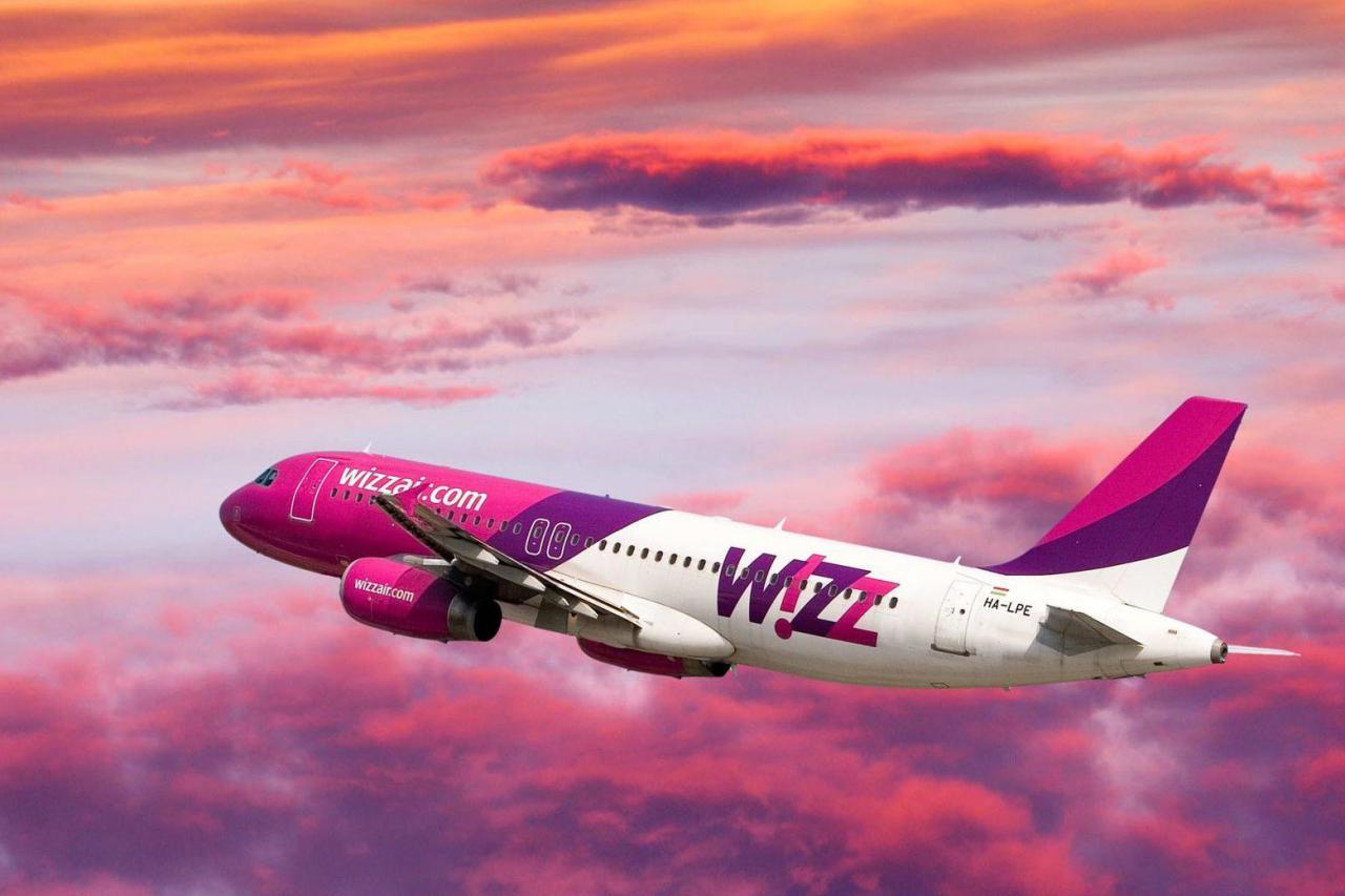 WizzAir увеличил цены на провоз багажа и приоритетную посадку