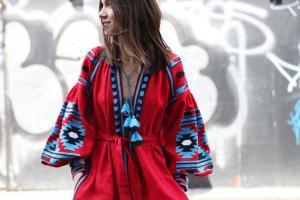Будь в тренде - надевай вышиванку. Где искать платья и рубашки с традиционной украинской вышивкой