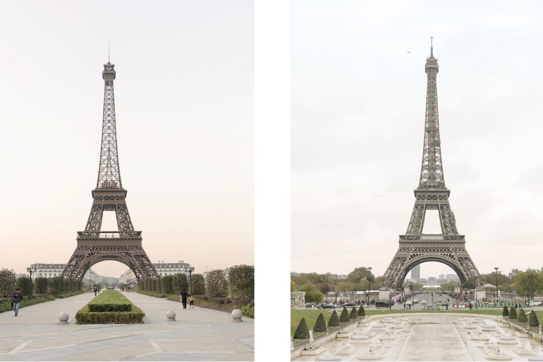 В Китае построили подделку Парижа. Попробуйте отличить от оригинала