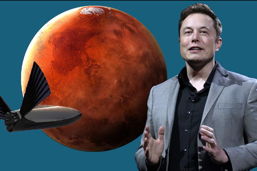 Илон Маск рассказал, когда SpaceX начнет летать на Марс. Быстрее, чем мы думали