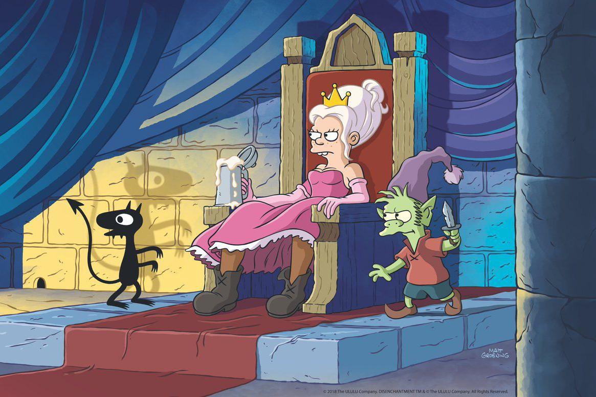 """На Netflix выходит новый мультсериал о пьющей принцессе от создателя """"Симпсонов"""""""