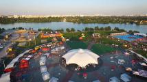 Выходные в Sky Family Park: водная битва, городские забавы и концерт