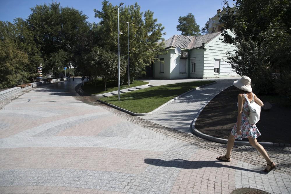 На Пейзажной аллее в Киеве закончился первый этап реконструкции. Фото и видео