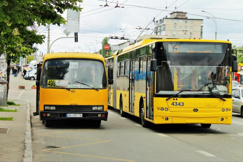 В Украине планируют избавиться от маршруток и заменить их другим видом транспорта