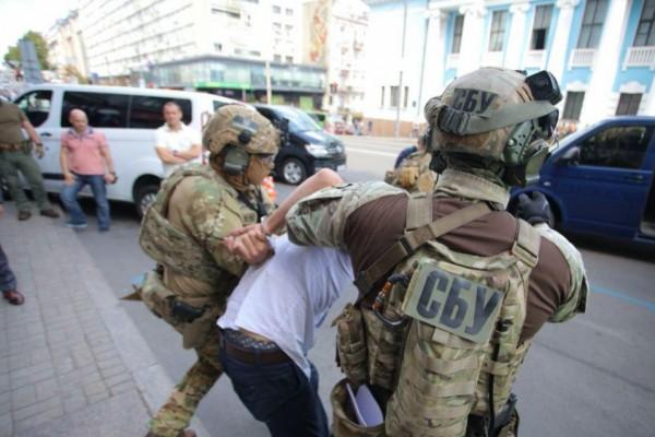 "Спецотряд СБУ задержал террориста, который захватил БЦ ""Леонардо"" в центре Киева: фото и видео"