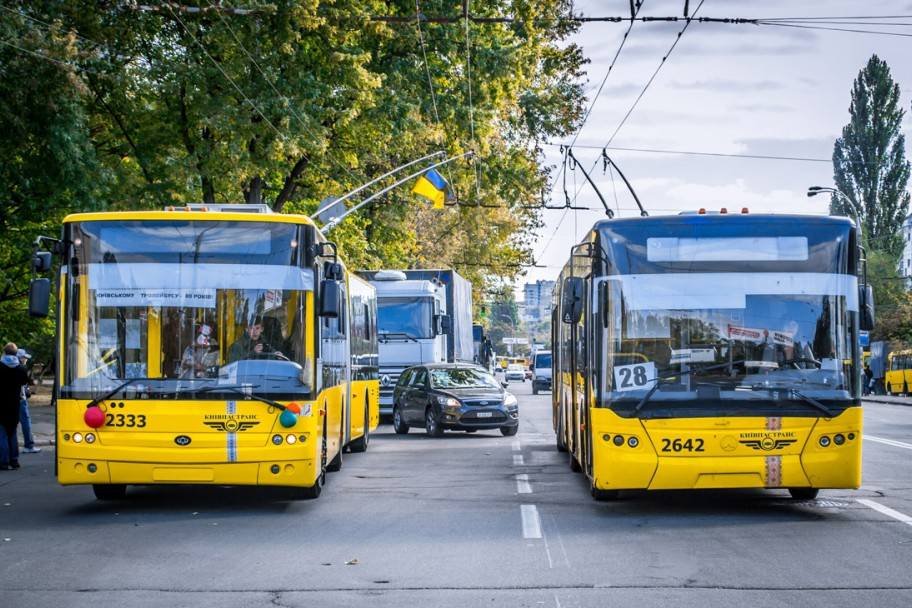 Киевпастранс продлил время работы транспорта в новогоднюю ночь
