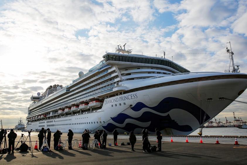 Зараженная украинка с лайнера Diamond Princess в Японии полностью вылечилась от коронавируса