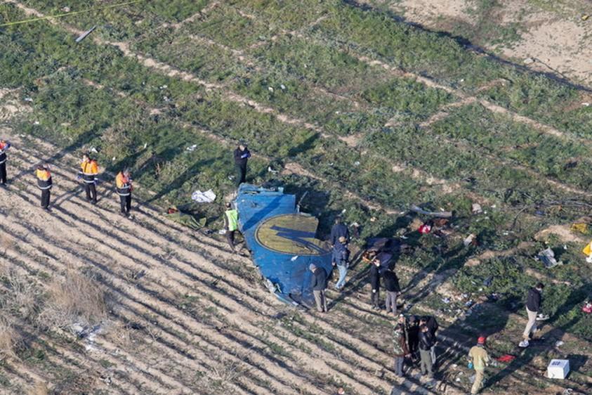 В Иране арестовали подозреваемых в связи с крушением самолета МАУ