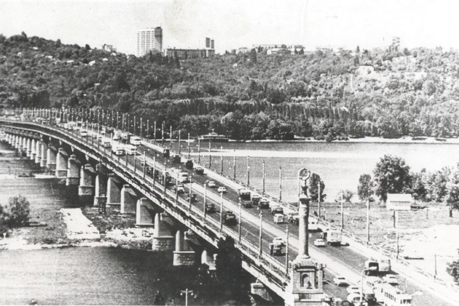 """В стиле ретро: """"Киевавтодор"""" представил архивные фото Киева к своей годовщине"""