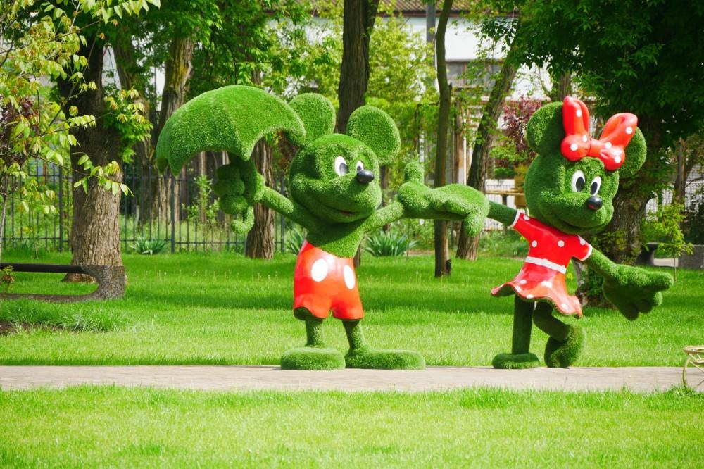На Певческом поле откроется масштабная цветочная выставка персонажей из мультфильмов