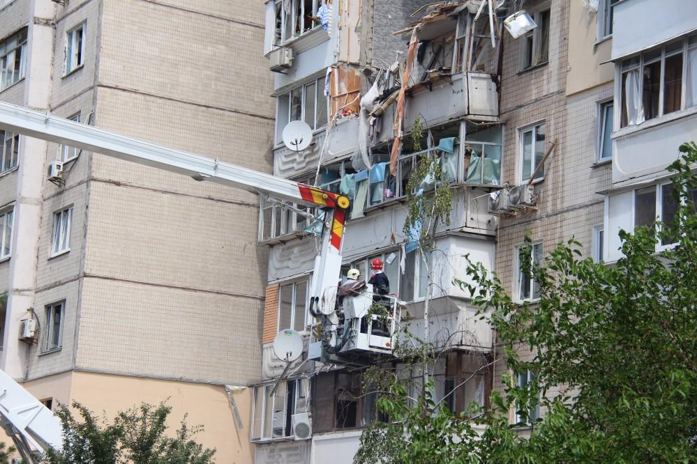 Часть пострадавших от взрыва дома на Позняках получили новые квартиры: видео