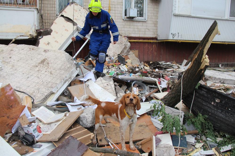 Взрыв в Киеве: под обломками обрушившегося дома на Позняках больше погибших нет