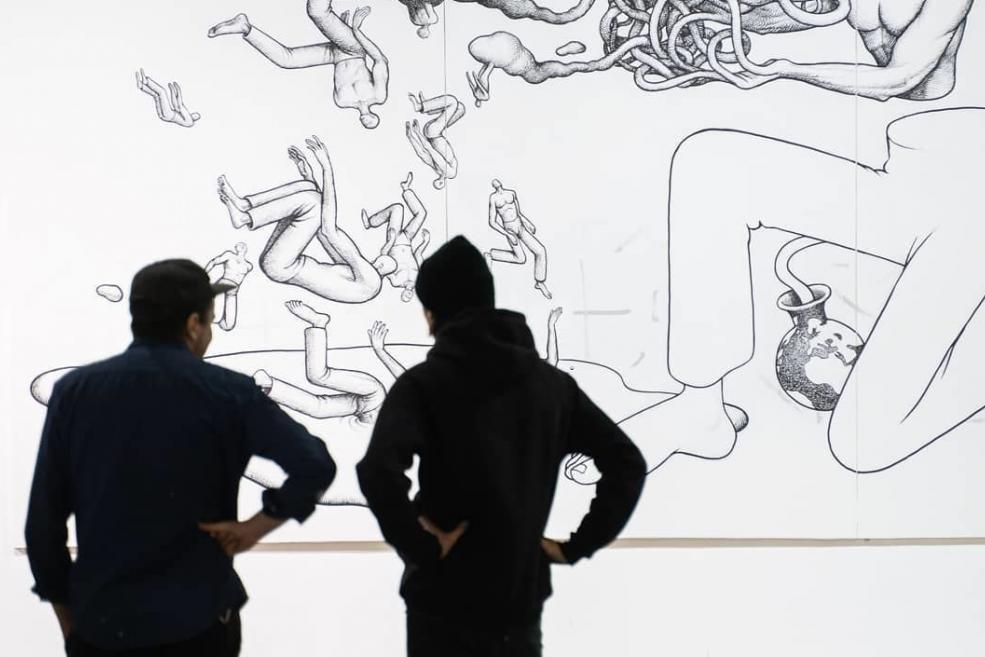 """В """"Мистецьком Арсенале"""" открывается первая выставка для посетителей после карантина"""