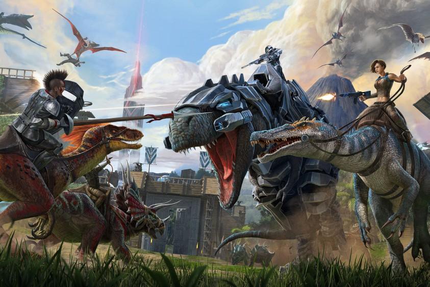 В Epic Games Store началась бесплатная раздача симулятора выживания Ark: Survival Evolved
