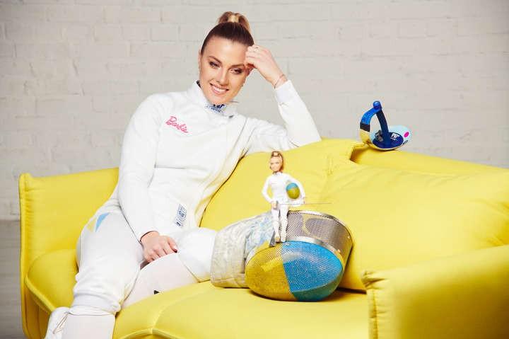 Куклу Barbie впервые посвятили украинской спортсменке Ольге Харлан. Фото