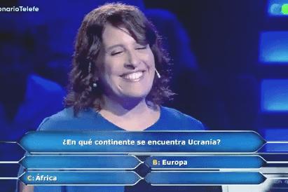 """Немножко Африка: участница аргентинского аналога """"Кто хочет стать миллионером"""" проиграла на вопросе про Украину"""