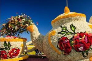 На Певческом поле откроется масштабная цветочная выставка, посвященная сладостям