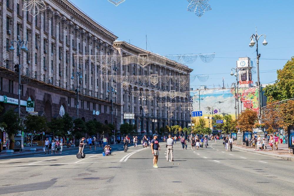 Капитальный ремонт Крещатика: что появится на центральной улице Киева после реконструкции