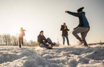 Пока не растаял снег: 9 мест, где в Киеве можно покататься на санках