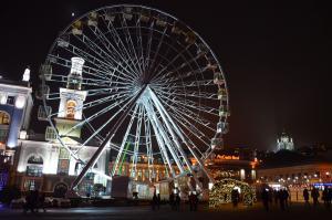 Ожидание – реальность: новогодний городок на Контрактовой площади