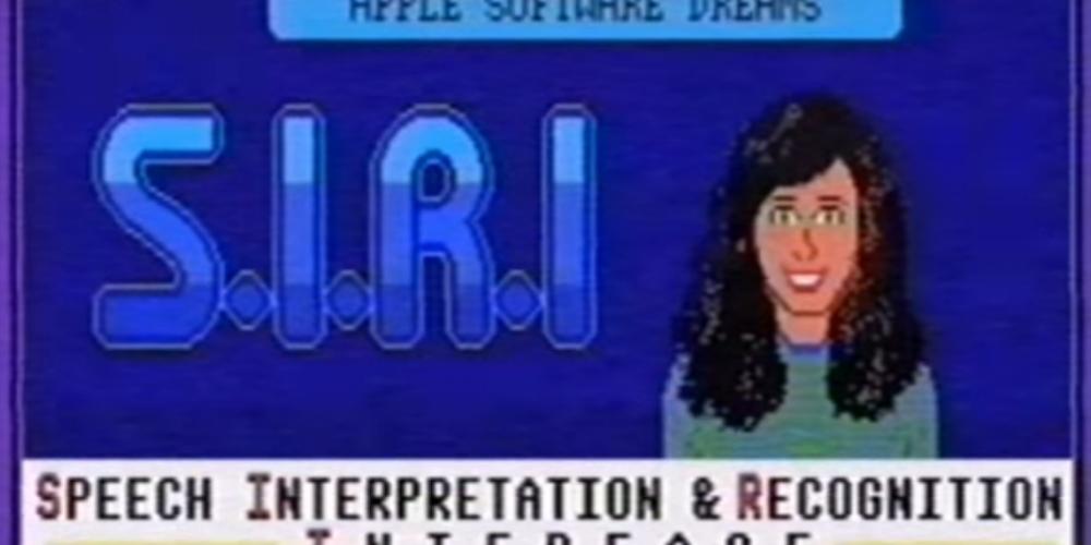 Видео дня: как бы выглядела и звучала Siri в 1980-х