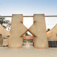 В Австралии появился уникальный хостел. Он сделан из песка