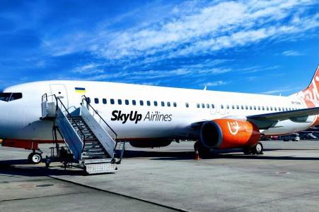 SkyUp  разработал систему скидок для пассажиров за отмененные рейсы