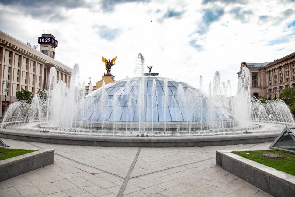 Специально ко Дню Киева запустят в работу столичные фонтаны