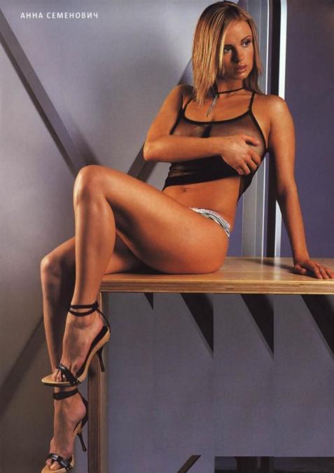 Необъятная грудь Анны Семенович снова оказалась в центре громкого скандала