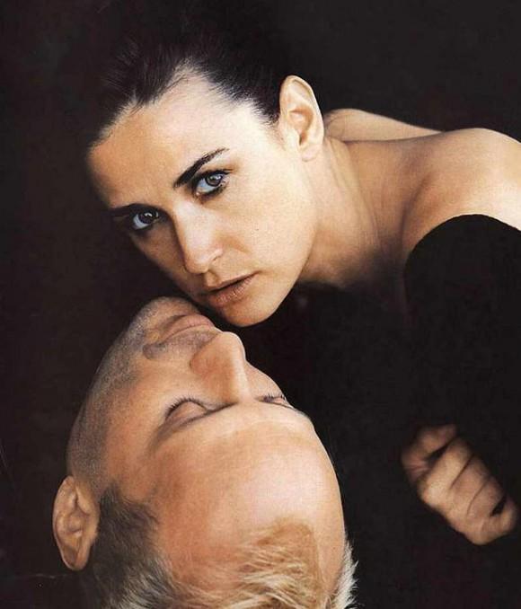 Роскошная Деми Мур в рекламе Helena Rubenstein