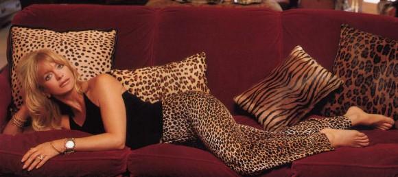 Курт Рассел и Голди Хоун показывают свою вечную любовь. Фото