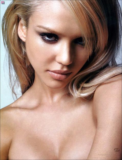 Джессика Альба в журнале Genlux. Фото
