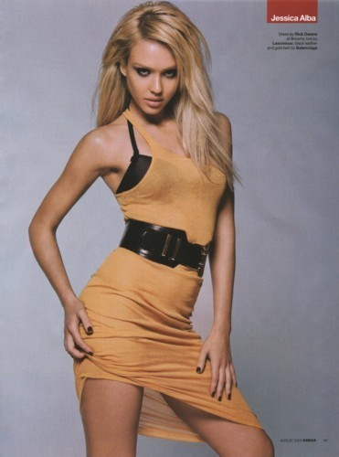 Джессика Альба на обложке журнала Genlux
