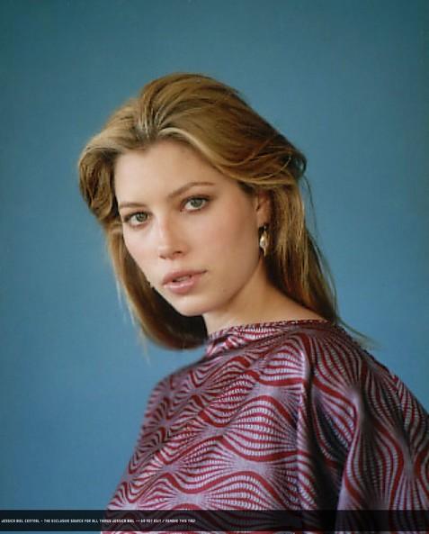 Джессика Биль в журнале Glamour. Фото