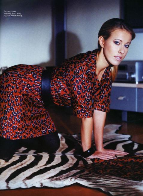 Ксения Собчак сменила имидж и хочет замуж за американца!