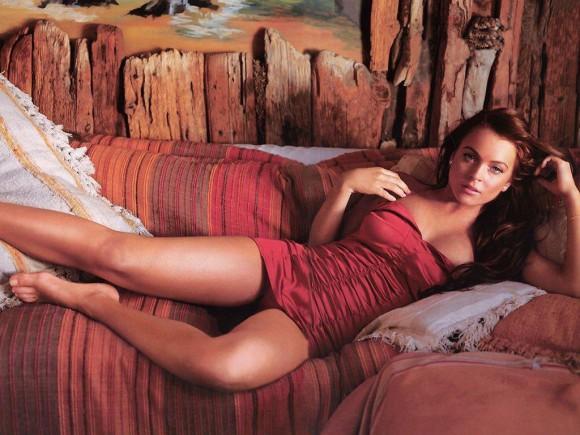 Линдси Лохан подала в суд на E-Trade. Фото. Видео