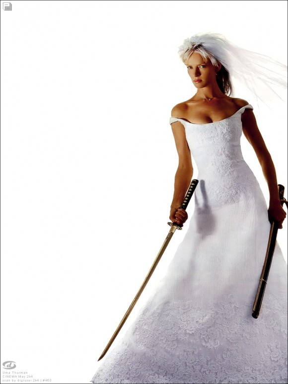 Ума Турман работает на Givenchy. Фото
