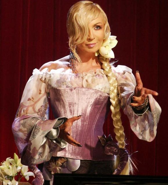 Ирина Билык перевоплотилась в волшебницу