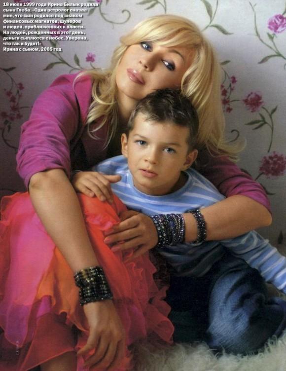 Ирина Билык хочет крестить детей Козловского и Кравчука