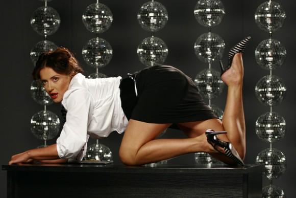 Могилевская показала грудь в своем блоге