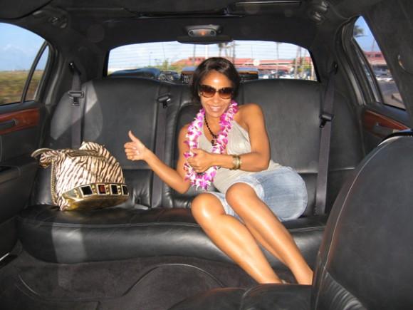 Гайтана отдохнула на Гавайях